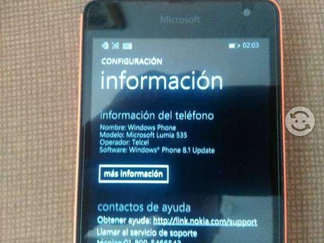 CELULAR Microsoft Lumia 535