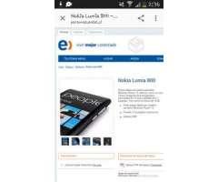 Nokia lumia 800, VIII Biobío