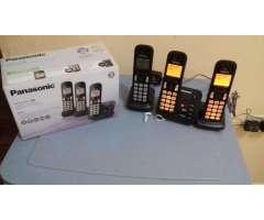 Teléfono Inalámbrico Panasonic Kxtgc223 CONTESTADORA AUTOMA