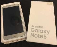 Vendo Samsung Galaxy Note 5 Libre!