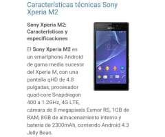 Cel Sony Xperia M2
