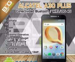 Oferta Alcatel A30 Plus 4g Android 7.0