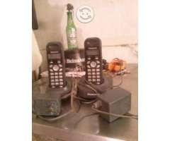 Teléfono Inalámbrico Panasonic Doble