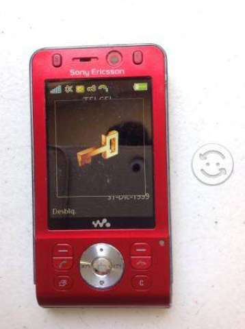 Celular Sony Ericsson Modelo W910i Telcel detalle