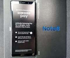 Samsung Note 8 LIBRES Y NUEVOS En CAJA
