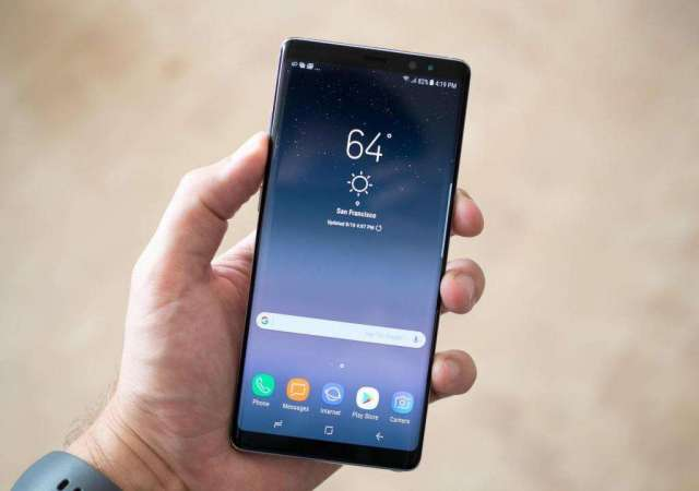Samsung Note 8 original, en 860 negociable