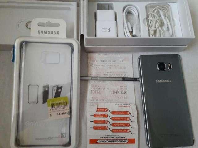 Samsung Note 5 Como Nuevo Factura Y Gar