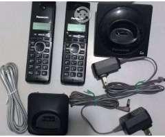 Telefono Inalambrico Doble Panasonic