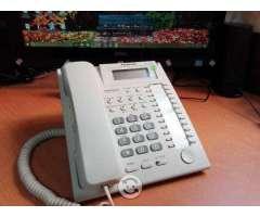 Telefono multilinea kx-t7735 panasonic iluminado