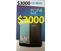 ALCATEL POP4 PLUS 2017 16GB 4G 5.5PULGADAS $3000 nuevos y liberados