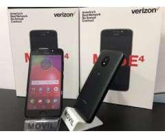 Motorola E4 nuevo