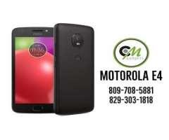 Motorola E4 Sellado 4GLTE **Tienda CMGadgets**