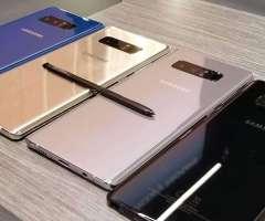 Samsung Galaxy NOTE 8 GALAXY s8 y s8 plus NUEVOS libres ORIGINALES con factura legal de venta