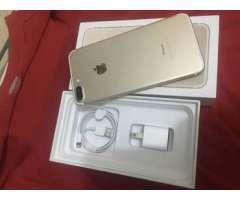 iPhone 7 plus 128gb debloqueado gold