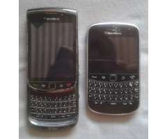BlackBerry Torch 1 9800 y BlackBerry Bold 5 9900