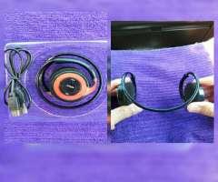 Audífonos con Bluetooth Nuevos en 8 Mil