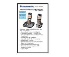 TELEFONO INALAMBRICO DUO MODELO KX TG4022 PANASONIC