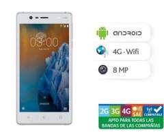 Smartphone Nokia 3 NUEVO sellado