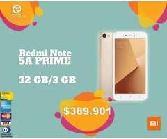 Xiaomi Redmi Note 5a Prime 32GB, TIENDA FÍSICA VIDRIO TEMPLADO ,nuevo, sellado, factura ...