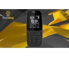 CELULAR BASICO Nokia 105 Version 2017 Radio Linterna Libre Negro TIENDA TOUCHKING OFICIAL OLX