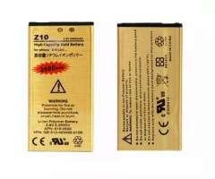 Batería De Reemplazo Z10 Para Blackberry, 1900mah