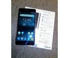 Nokia 6 con caja y accesorios - 3/32Gb