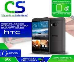Servicio técnico especializado en cambios de pantallas de celulares y equipos HTC.