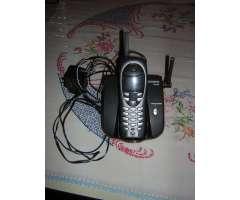 Teléfono de línea inalambrico marca Siemens