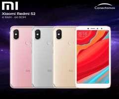 Celular libre Xiaomi Redmi S2 64gb Nuevos con factura