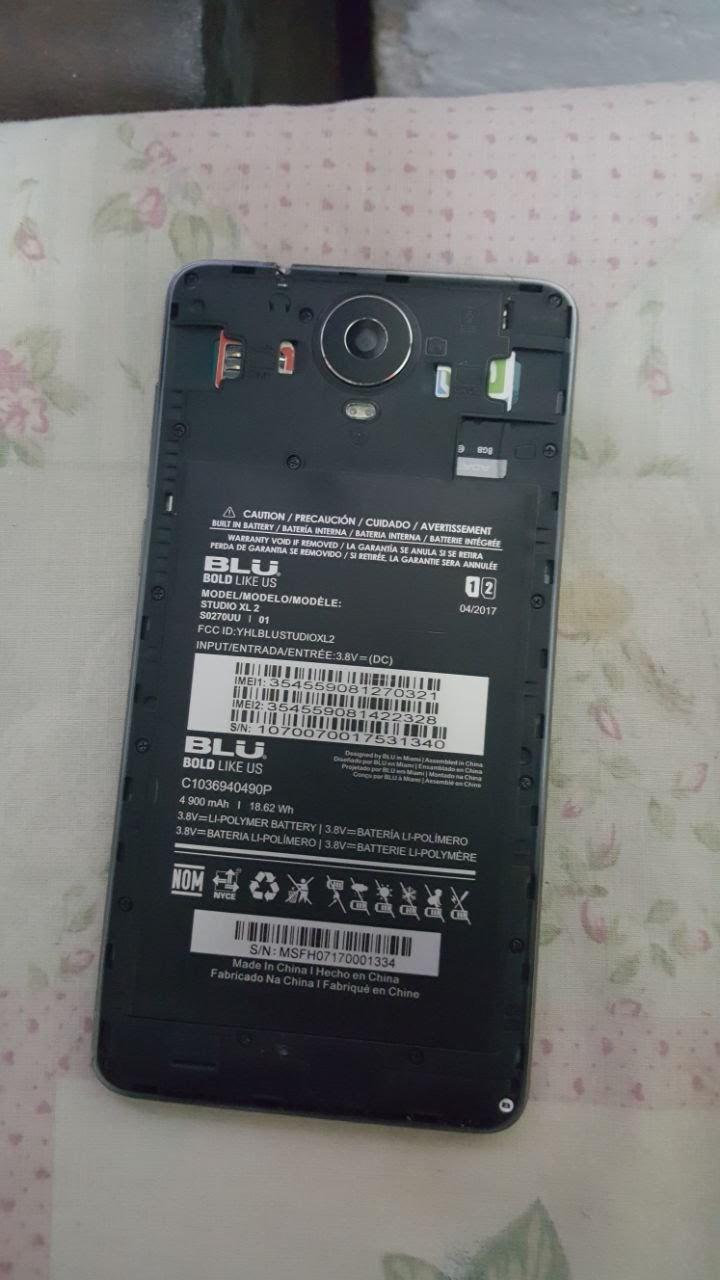 Compro Batería interna Blu. Studio XL 2