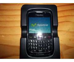 CELULAR BLACKBERRY CURVE 8520 MOVISTAR !IMPECABLE!.