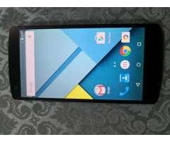 NEXUS 5 de LG LTE 4G 16Gb RAM 2Gb libre $99, no cambios