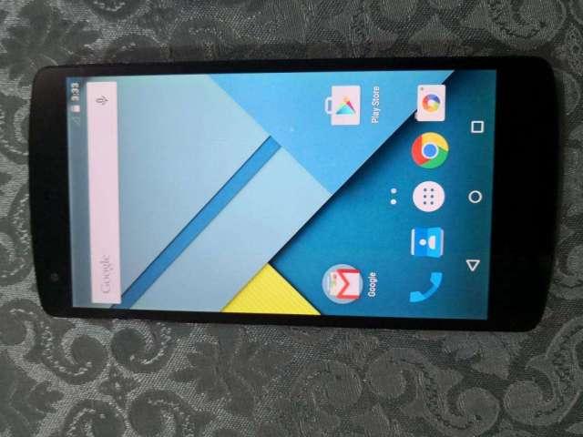 NEXUS 5 de LG LTE 4G 16Gb RAM 2Gb libre $80 fijos, no cambios