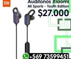Audifonos Bluetooth Xiaomi Mi Sports Youth Edition - Valdivia