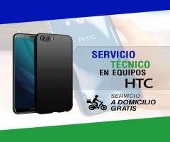 Servicio técnico especializado en reparaciones de celulares HTC.