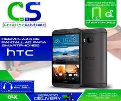 Servicio técnico especializado en reparaciones de pantalla de celulares HTC