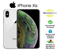 IPHONE XS 64 GB NUEVO, CAJA SELLADA, GARANTÍA DE 12 MESES, TIENDAS FÍSICAS