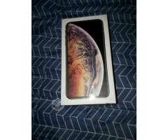 Iphone xs max 64gbtes dorado nuevo sellado - Santiago