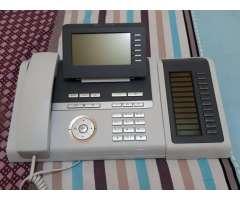 Central Telefonica PBX IP Siemens Hipath 3550 para 50 anexos Central Hotelera Edificios
