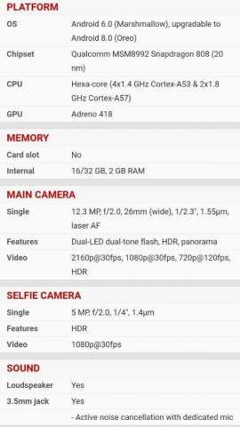 Vendo Lg Nexus 5x 2ram 32internas