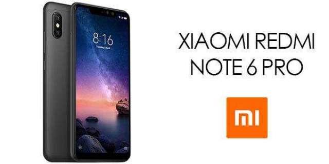 Xiaomi Redmi Note 6 Pro Cámara Frontal 20mpx 64gb Obsequio De band 3
