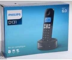 Vendo Telef. Nuevo Inalámbrico Philips