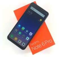 Xiaomi Redmi Note 6 Pro (Sellado) 4GB x 64GB, Protector de pantalla y Cover