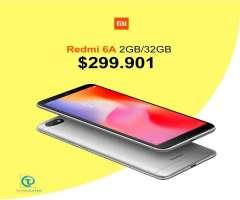 Xiaomi Redmi 6a 16GB, TIENDA FÍSICA VIDRIO TEMPLADO y ESTUCHE,nuevo, homologado, sellado...