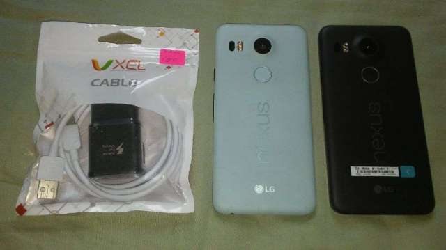 LG Nexus 5x 32gb con huella
