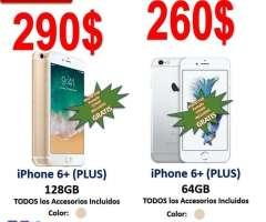 OFERTA! SEMINUEVOS iPhone 6 PLUS LIBRE 64/128GB TouchID 100% funcional AppleID&#...
