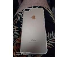 iPhone 7 Plus Gold 32 Gb Como Nuevo, Neg