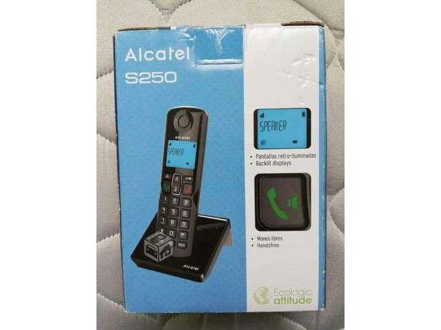 Teléfono Inalambrico Alcatel S250 - Valparaíso