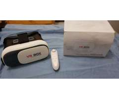 VR BOX lentes de realidad virtual y control bluetooth
