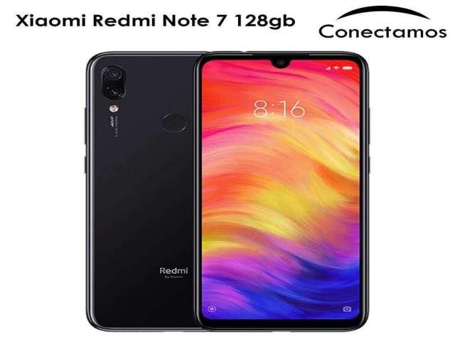 Celular Libre Xiaomi Redmi Note 7 128gb Sellados de fabrica con garantia